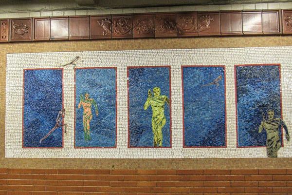 Auf Subway Art - Tour